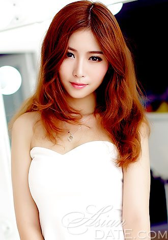 Red Brown Hair Asian